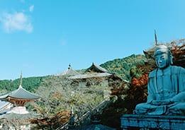 眼病封じの仏様が鎮座する 壷阪寺