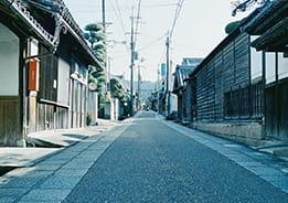 江戸時代の面影が残る 土佐街道